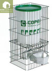 Bebedero Acuacán aluminio con depósito para perros