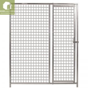 Frente malla 5x5 cm. con puerta box ECO