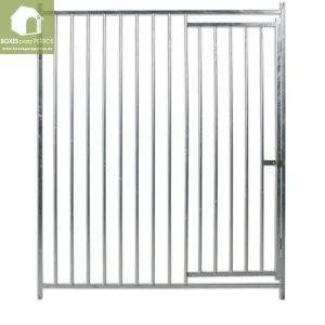 Frente barra con puerta
