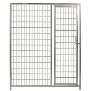 Frente malla con puerta