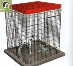Jaula Modular para perros.  Medidas Frente 134; Fondo: 134; Alto:174 cm