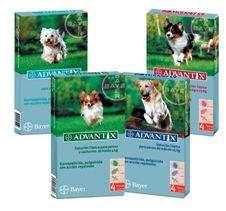 Pipetas para Perros Advantix hasta de 4 kg