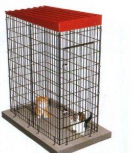 Jaula Modular para perros. Medidas Frente 67; Fondo: 134; Alto:174 cm. Perros o gatos