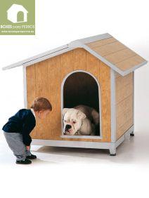 Caseta perro pvc
