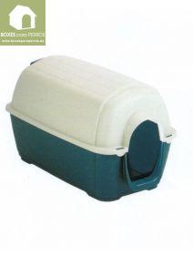 Caseta plástico verde